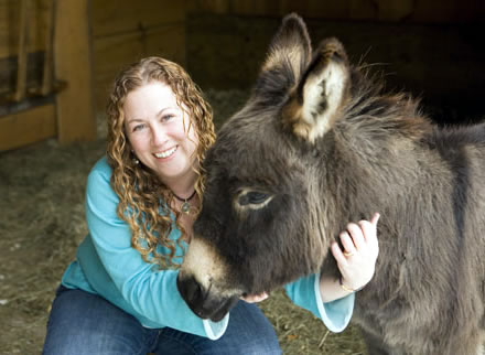 Jodi Picoult, author and animal lover